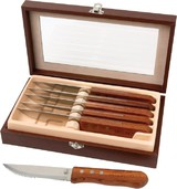 6 Pc Steak Knife Set