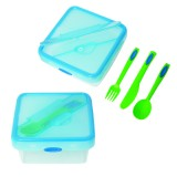 Albertan Lunch Container with Cutlery