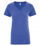 Triblend V-Neck Ladies Tee