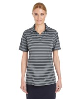 Ladies' Corp Tech Stripe Polo
