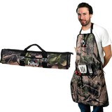 Camo 5 Pc BBQ Apron Set