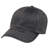Pigment Dyed Washed Cotton 6 Panel Full-Fit