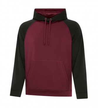 Game Day Fleece Two Tone Hooded Sweatshirt