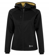 Bonded Tech Fleece Full Zip Hooded Ladies' Jacket