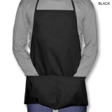 Twill Imported Economy Apron with 2 Pockets