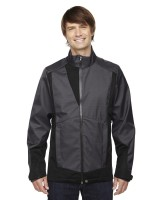 Commute Three-Layer Light Bonded Two-Tone Soft Shell Jacket