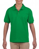 Youth Short Sleeve Jersey Polo