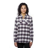 Ladies' Woven Plaid Flannel