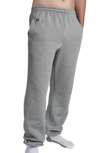 Dri-Power Adult Closed-Bottom Fleece Pocket Pant