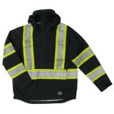 Hi-Vis Packable Rain Jacket