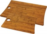 Woodland Bamboo Cutting Board Set