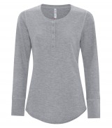 EsActive Vintage Thermal Long Sleeve Ladies' Henley