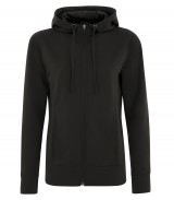 Game Day Fleece Full Zip Hooded Ladies Sweatshirt