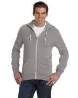 Men's Eco Fleece Triblend Rocky Full-Zip Fashion Hoodie