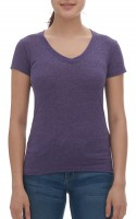 Ladies Blend V-Neck Tee