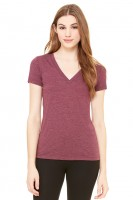 Triblend Deep V-Neck