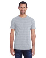 Invisible Stripe Short-Sleeve T-Shirt