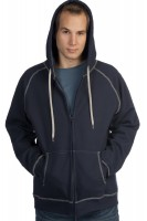 Double Hooded Full-Zip Hoody