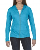 Triblend Full Zip Hooded Jacket For Ladies