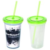 500 ml. (16 oz.) Double Wall Removable Tumbler