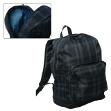 Plaid Laptop Knapsack