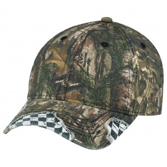 Constructed Full Fit Distressed Racing Cap