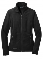 Shaded Crosshatch Softshell Ladies Jacket