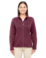 Ladies Bristol Full Zip Sweater Fleece Jacket