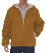 Sherpa Lined Sanded Duck Bomber