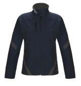 Ladies Unlined Colour Contrast Softshell Jacket