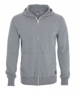 Unisex Hooded Full Zip Sweater