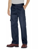 Relaxed Fit Straight Leg Cargo Work Pant